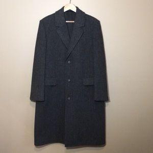 London Fog Vintage 1980's Wool Pea Coat 44 Reg